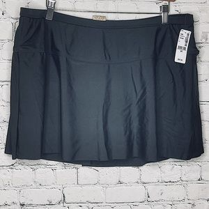 Sea Swimwear bathing suit skirt with brief bottoms